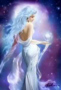 Aphrodite (Venus) Greek Goddess - Art Picture by jdm