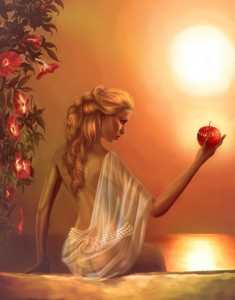 Aphrodite (Venus) Greek Goddess - Art Picture by lilok lilok