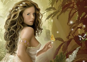 Aphrodite (Venus) Greek Goddess - Art Picture by zeoxisace71