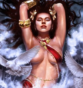 Aphrodite (Venus) Greek Goddess - Art Picture by laclillac