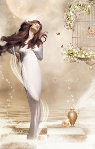 Aphrodite (Venus) Greek Goddess - Art Picture by nataly1st