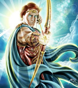 Apollo Greek God - Art Picture by ArcosArt