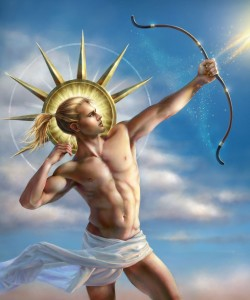 Apollo Greek God - Art Picture