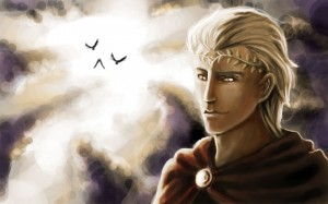 Apollo Greek God - Art Picture by shyfe