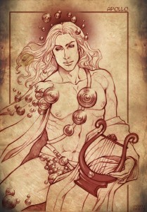 Apollo Greek God - Art Picture by Stregatto10