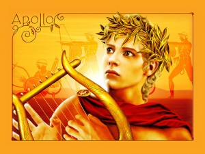 Apollo Greek God - Art Picture by iizzard