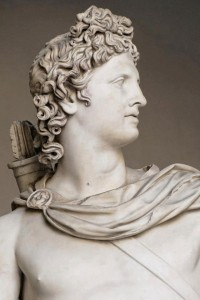 Greek God Apollo Statue