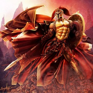 Ares (Mars) Greek God - Art Picture by SteveArgyle