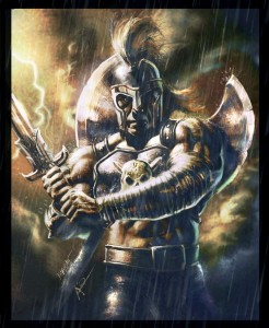 Ares (Mars) Greek God - Art Picture by rudyao