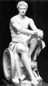 Greek God Ares (Mars) Statue