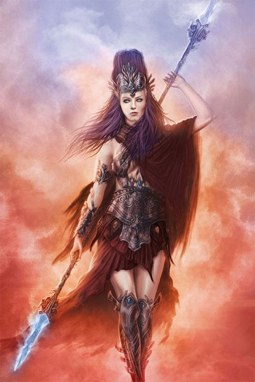 eurystheus_Athena (Minerva) – Greek Goddess of Wisdom and War. | Greek Gods and Goddesses ...