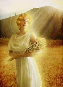 Demeter (Ceres) Greek Goddess - Art Picture by JinxMim
