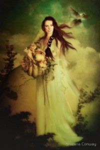 Demeter (Ceres) Greek Goddess - Art Picture by Shanina Conway