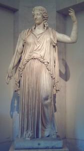 Greek Goddess Demeter (Ceres) Statue Madrid-Capitolio (Museo del Prado)