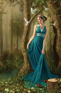 Persephone - Daughter of Demeter (Ceres) Greek Goddess - Art Picture