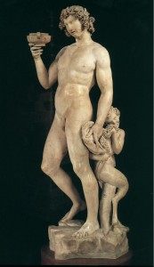 Greek God Dionysus (Bacchus) Statue
