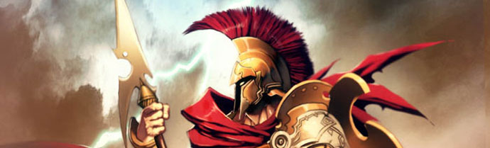 Ares (Mars) - Greek God of War. He is one of the Twelve Olympians, and the son of Zeus and Hera.