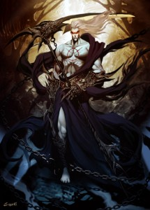Hades (Pluto) Greek God - Art Picture by GenzoMan