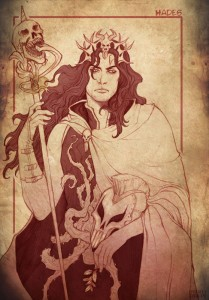 Hades (Pluto) Greek God - Art Picture by Stregatto10