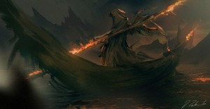 Charon (Ferryman of the Underworld) - Art Picture by daroz