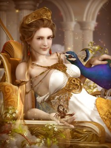 Hera (Juno) Greek Goddess - Art Picture