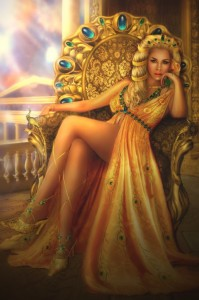 Hera (Juno) Greek Goddess - Art Picture by liliaosipova