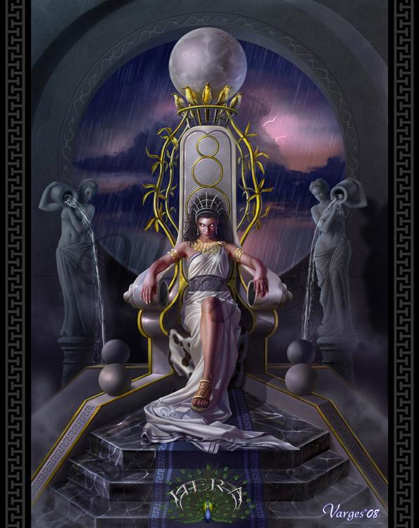 Hera Juno Greek Goddess Queen Of The Gods Greek Gods And