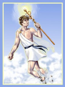 Hermes (Mercury) Greek God - Art Picture by DeitiesOfMyth