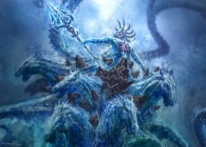 Poseidon (Neptune) Greek God - Art Picture by God of War III ConceptArt