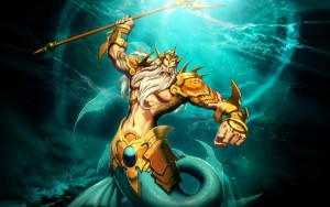 Poseidon (Neptune) Greek God - Art Picture by GenzoMan