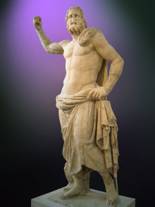 Greek God Poseidon (Neptune) Statue - Poseidon from Milos, 2nd century BC (National Archaeological Museum of Athens)