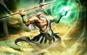 Zeus (Jupiter) Greek God - Art Picture by GenzoMan