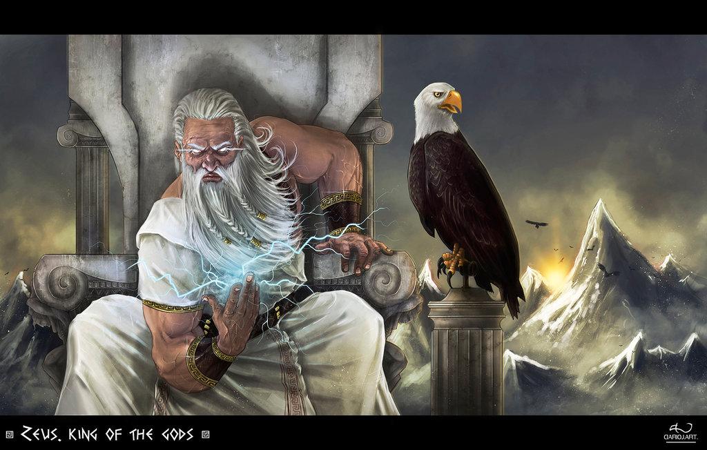 Zeus (Jupiter) - Greek God - King of the Gods and men ...