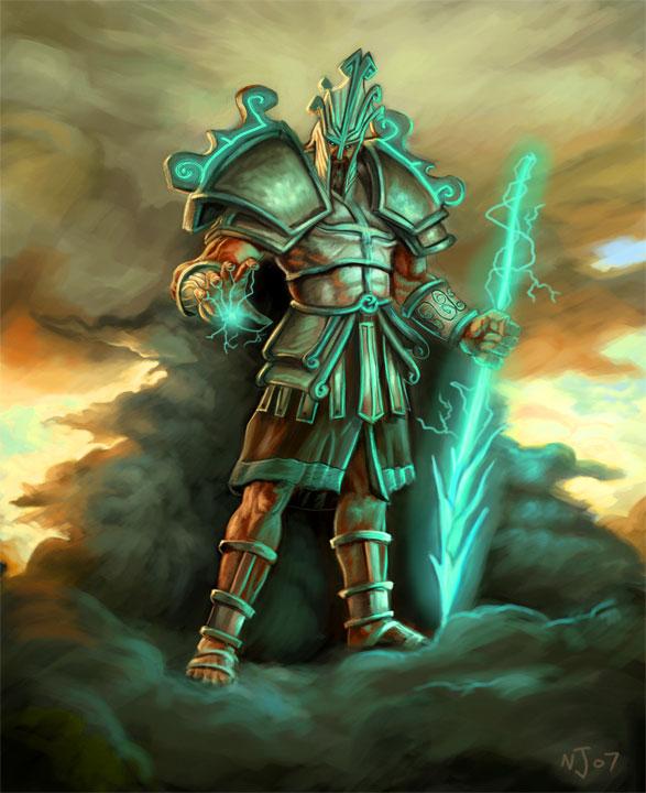 god-king pantheon