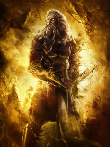 Zeus (Jupiter) Greek God - Art Picture by God of War