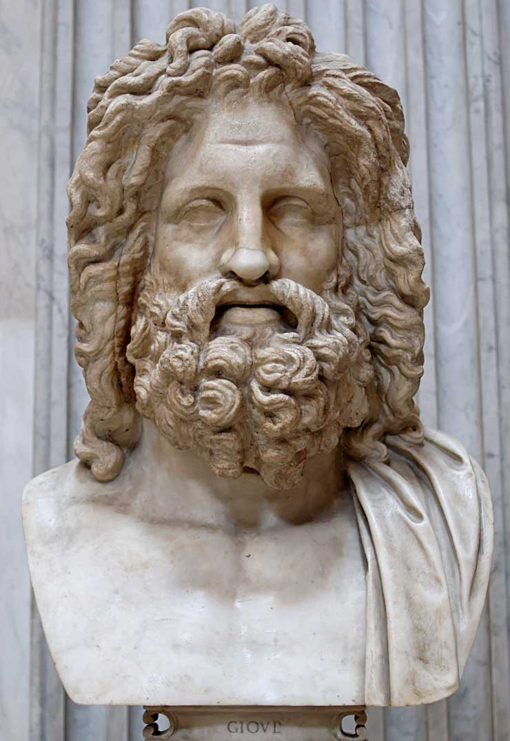 Zeus (Jupiter) – Greek God – King of the Gods and men