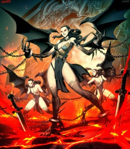 Furies Erinyes (Mythical Creature) - Art Picture by GenzoMan