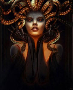 Medusa Gorgon (Mythical Creature) - Art Picture by Rob Shields