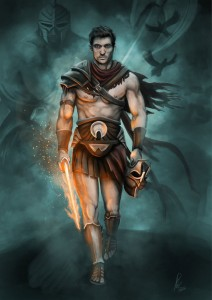 Perseus Hero - Art Picture by Raymond Minnaar