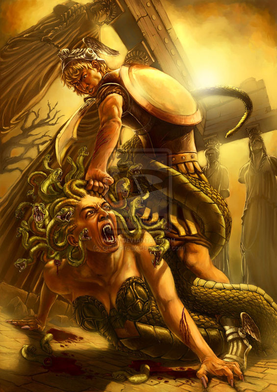 Medusa (Gorgon) - Mythical Creature | Greek Gods and ...