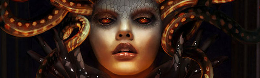 Medusa - Gorgon is one of the oldest and most popular ancient myths. Medusa in Greek mythology is referenced as one of the three Gorgons.